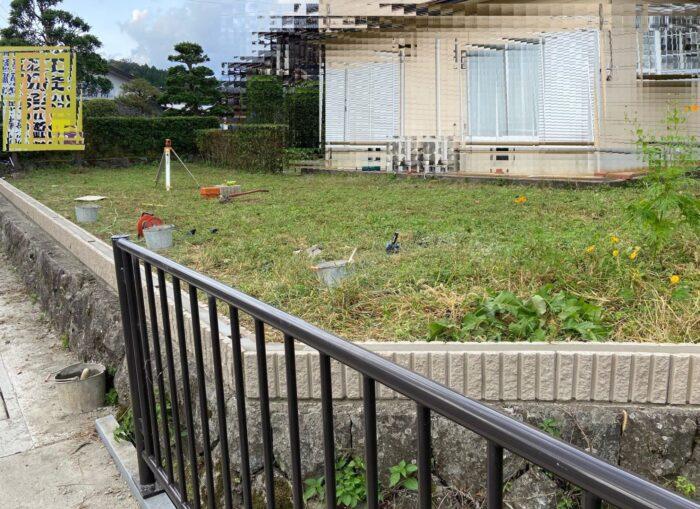 豊岡市 M邸 ブロック・フェンス